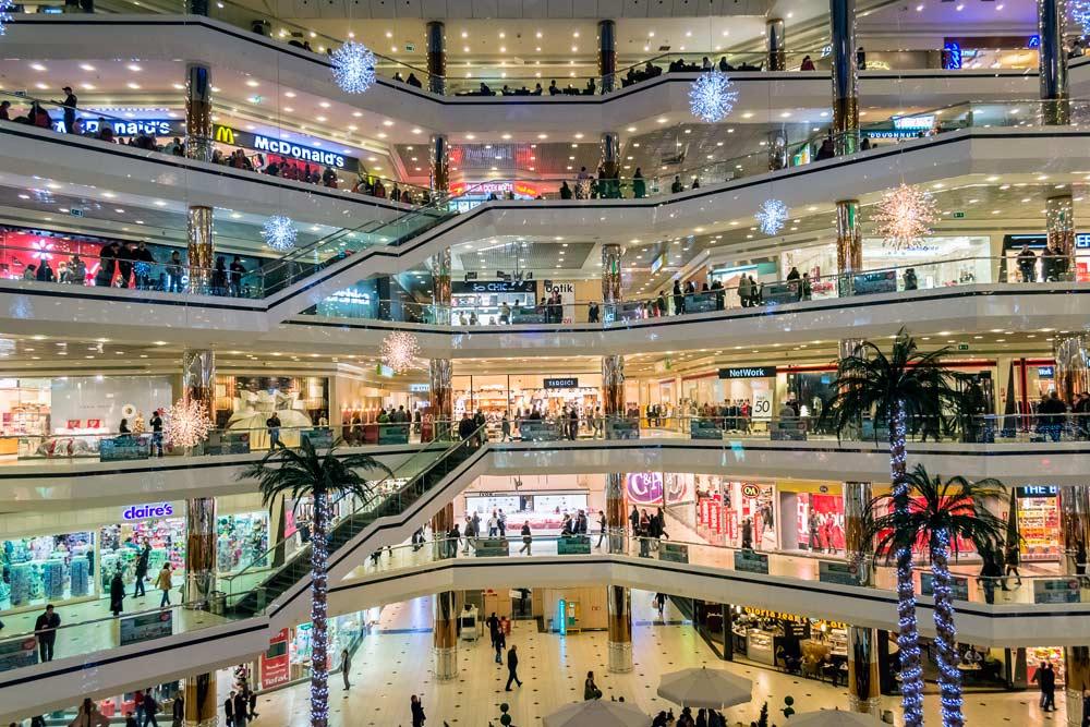 centro comercial español