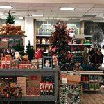 tienda de retail en navidad